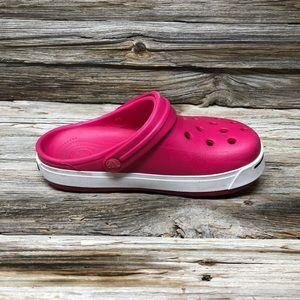 CROCS Shoes - Crocs Kids' Classic Clog Hot Pink Girls J2